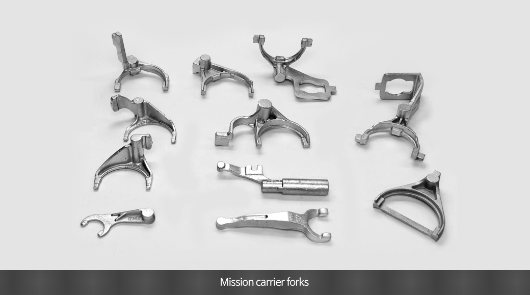 Mission carrier forks
