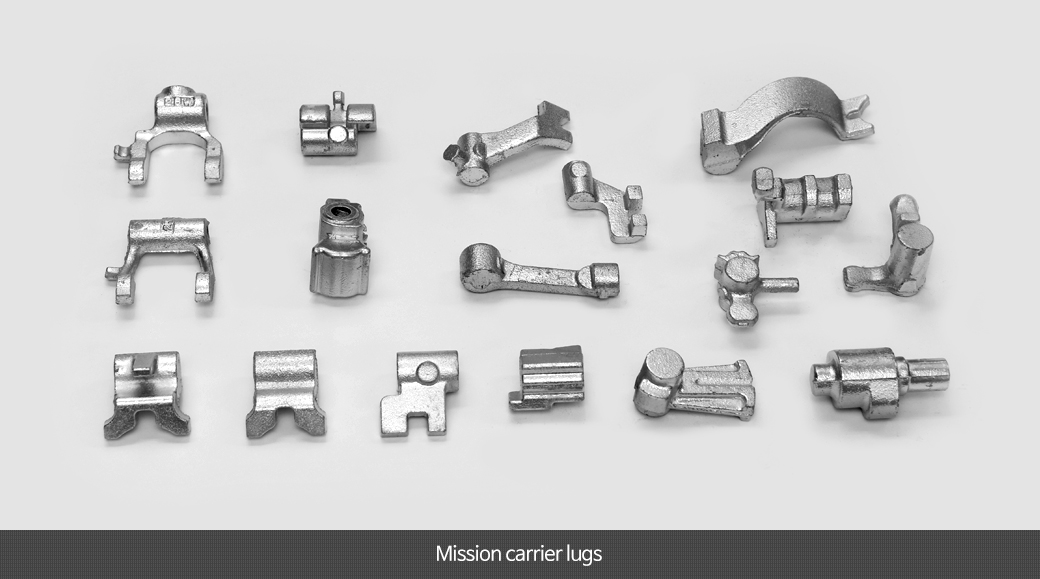 Mission carrier lugs